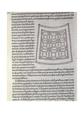 Hypnerotomachia Poliphili  Study for Garden  1499