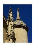 Gothic Art  Spain  Segovia  Cathedral  16th Century  Exterior  Pinnacle