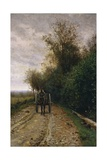 Road Through the Bushes  1868
