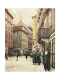 Vienna  the Jewish Quarter  1905
