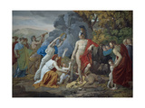 Theseus and the Minotaur  1824