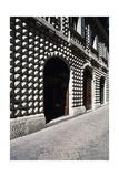Front Elevation of Diamanti Palace  Macerata  Marche  Italy