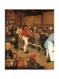 The Peasant Wedding  1567-1568