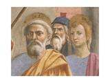 Saint Peter's Face  Detail from Saint Peter Healing the Sick