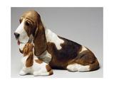 Basset Hound and Puppy
