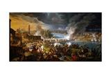 Battle at Bridge of Lodi  May 10  1796