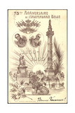 Litho 75Me Anniversaire  L'Independance Belge  1905