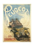 Advertisement for Peugeot Cars  1896