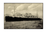 Hapag  Dampfschiff Milwaukee  Transatlantik