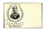 Carl Alexander  Sachsen Weimar Eisenach  80 Geburtstag