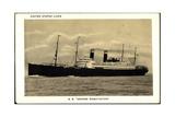United States Lines  Dampfschiff George Washington