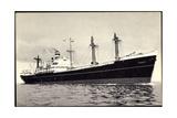 Dampfer SS Eemdyk  Holland America Line