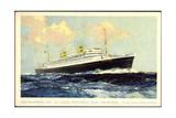 Dampfer Nieuw Amsterdam  Holland-America Line