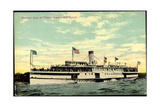 Steamer SS City of Toledo  Detroit and Toledo