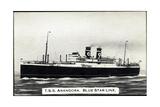TSS Arandora  Blue Star Line  Dampfschiff