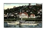 Dresden Loschwitz  Bergschwebebahn  Dampfer Karlsbad