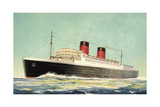 Künstler Cunard White Star  Steamer Mauretania