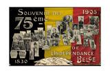 75EME Anniversaire De L'Indépendance  Belgien 1905