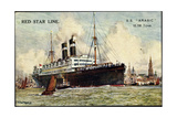 Künstler Red Star Line  SS Arabic