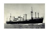 Dampfer Sommelsdyk  Holland America Line  Hal