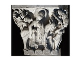 France  Autun  Cathedral of Saint-Lazare  Flight into Egypt  Capital of Romanesque Transept