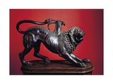 Etruscan Civilization  Chimera of Arezzo  Bronze Sculpture  Height 65 Cm