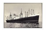 Dampfer SS Alblasserdyk  Holland America Line