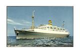 Dampfer SS Ryndam  Holland America Line