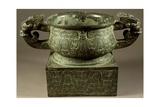 Bronze Vessel  China  Zhou Dynasty  9th Century BC