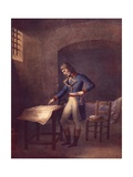 Napoleon Prisoner at Fort Carre in Antibes in August 1794  French Revolution  France 18th Century