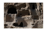 United States  Bandelier National Monument  Anasazi Culture  Cliff Dwellings