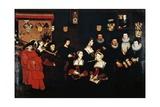 Thomas Moro with His Family  Tudor  England  16th Century