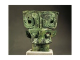 Cane Handle  Shang Dynasty  Bronze