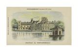 Chateau De Fontainebleau  Fontainebleau