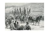 Victorious Agordat Troops Returning to Keren  1894