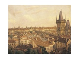 Czech Republic  Prague Painting of Old Town