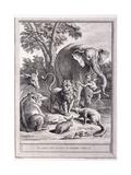 Le Lion S'En Allant En Guerre  C1755-1759