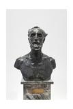 Bust of Jules Dalou  1883