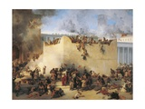 Italy  Lombard  Destruction of Temple of Jerusalem