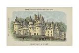 Chateau D'Usse  Usse  Indre-Et-Loire