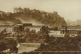 Edinburgh Castle and National Gallery of Scotland