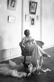 Anna Pavlova Resting after Rehearsal  Early C20th