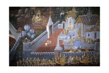 Thailand  Bangkok  Royal Palace  Mural Painting