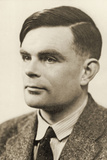 Portrait of Alan Mathison Turing  1951