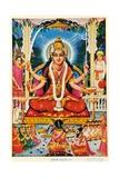 Durga  Vishnu