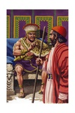 Saul Appearing before Samuel