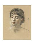 Head of a Girl  1883