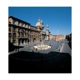 Piazza Navona in Rome  1644 - 1644