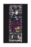 Glass Window with St Mark the Evangelist