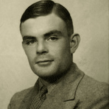 Portrait of Alan Mathison Turing